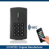 Automazione domestica MIFARE Desfare EV1 del produttore del lettore di schede dei bit RFID del TCP/IP Wiegand 58 con la tastiera della lampadina
