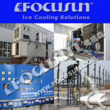 Nuovo dell'impianto di fabbricazione di ghiaccio del fiocco dell'acqua dolce del creatore di ghiaccio del fiocco di Focusun