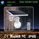 indicatore luminoso solare del giardino integrato 600-720lm per il cortile e la sosta