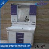Unidades comerciais da vaidade do banheiro do PVC do assoalho da alta qualidade