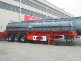 De zure Aanhangwagen van de Tanker van de As 36000L Drie
