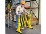 Gute Qualitätsbewegliche Plastikstrecke-expandierbare Barrikade