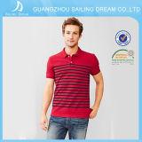 Оптовая продажа Китай рубашки пола красивого хлопка славных людей качества Striped