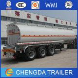 El tanque de petróleo de 3 árboles 42000 litros del combustible de acoplado común del petrolero