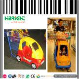 Магазинная тележкаа детей торгового центра для супермаркета