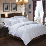 Van 100% het Blad van het Bed van de Katoenen Reeksen van het Beddegoed van de Polyester/voor Hotel