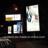アルミニウムLEDのスクローリングLightboxの屋外の掲示板の広告
