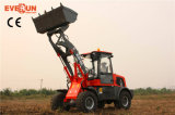 Partes frontales Loader de Qingdao Everun Wheel Loader Er16 Mini con Drum Folder
