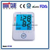 Großer blauer Backlit elektronischer Digital-Arm-Blutdruck-Monitor (BP 80K)