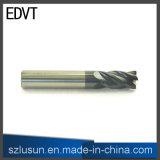 Режущий инструмент лезвия торцевой фрезы 4 радиуса внешнего закругления Edvt
