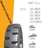Neumático radial al por mayor del cargador de 26.5r25 OTR, neumático de OTR