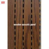 Panneau de mur en bois d'écran antibruit de plafond de panneau de plafond de titre acoustique de plafond
