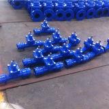 Soupape à vanne posée molle résiliente Non-En hausse d'extrémité de plot de cheminée pour la pipe de PVC