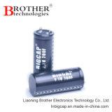 スナップ式熱い販売および鉛は極度のコンデンサー(3.0V 100f)のファラッドのコンデンサーをタイプする