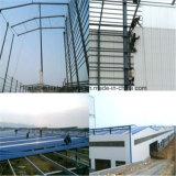 Multi edifício da construção de aço da extensão com melhor projeto
