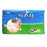 Heißes Sale PET Backsheet pp. Tape Diaper für Baby nach Nigeria