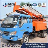 Тележка пробуренная Dfq-200c хорошая Drilling для тяжелого рока