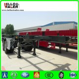 2 Axle каркасный контейнера Chassis/20FT контейнера трейлер Semi