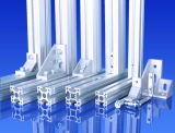 Profil en aluminium expulsé de pipe de tube de section en aluminium