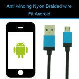 Aufladeeinheits-Kabel Mikro-USB-Daten-Kabel mit androidem Handy