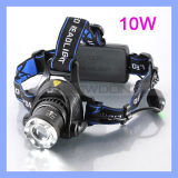 1000 Lumen 10W Adjustable Rechargeable CREE Xml T6 LED Headlamp Light