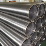 Tubulação de filtro do fio do poço de água do aço inoxidável 316L do fabricante