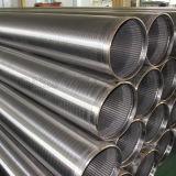 Tubo filtrante del alambre del receptor de papel de agua del acero inoxidable 316L del fabricante
