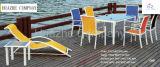 Комплект софы ротанга напольного PE мебели патио патио секционного Wicker