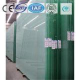 Color verde oscuro/vidrio de flotador teñido/claro para el edificio/la decoración