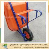Forte e bello tipo quadrato carriola Wb7808r del tubo dei nuovi modelli