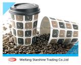 Papel de revestimiento doble extensamente popular para las tazas de café