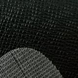Cuoio di cuoio di calandratura del PVC del cuoio sintetico del PVC del cuoio dell'automobile del cuoio della mobilia del PVC del reticolo del dentifricio in pasta di certificazione dell'oro dello SGS