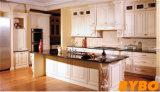 Module de cuisine classique en bois solide de meubles de cuisine de type