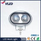 Luz de trabajo LED azul del CREE 10W punto brillante para el carro auto del coche SUV ATV