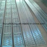 Tablón de acero de Galvanzied para el tablón del andamio de la construcción