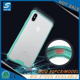Qualitäts-transparenter Acryltelefon-Kasten für iPhone 8