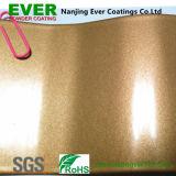 Vernici metalliche del rivestimento della polvere dell'oro