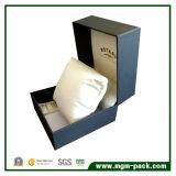 Бумажная одиночная коробка вахты с подкладкой бархата подушки