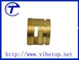 Precisie CNC die voor de Aansluting van het Messing machinaal bewerken (messing-008)