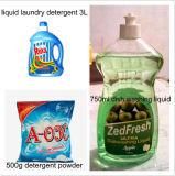 Poeder van de Was van de wasserij Detergent in China