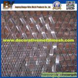 Painel de malha de metal expandido decorativo de alumínio de alta qualidade