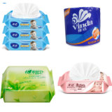 Machine d'emballage de tissu de toilette de paquet de palier