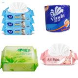 Kissen-Satz-Toiletten-Gewebe-Verpackungs-Maschine