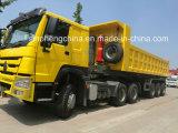 최고 상표 Sinotruk 판매를 위한 팁 주는 사람 트럭 트레일러