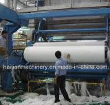 Maquinaria crescent de alta velocidad del papel de la servilleta
