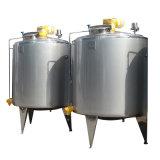 Cuve sanitaire de fermentation de lait de laiterie d'acier inoxydable de nourriture
