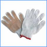 PVC에 의하여 점을 찍는 손 방어적인 노동 장갑
