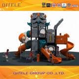 Equipamento ao ar livre do campo de jogos das crianças da série do navio de espaço II