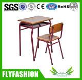 Escritorio y silla moldeados alta calidad (SF-86S) de la escuela de la tarjeta