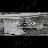 De witte Bank van Carrara voor Decoratie mbt-344 van het Huis